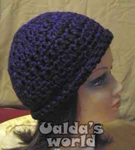 557eb8fdc46 Beanie hats in Ualda s World of Mad Hats   other Crazy Crochet
